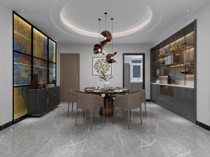 中儲城邦G戶型現代客餐廳